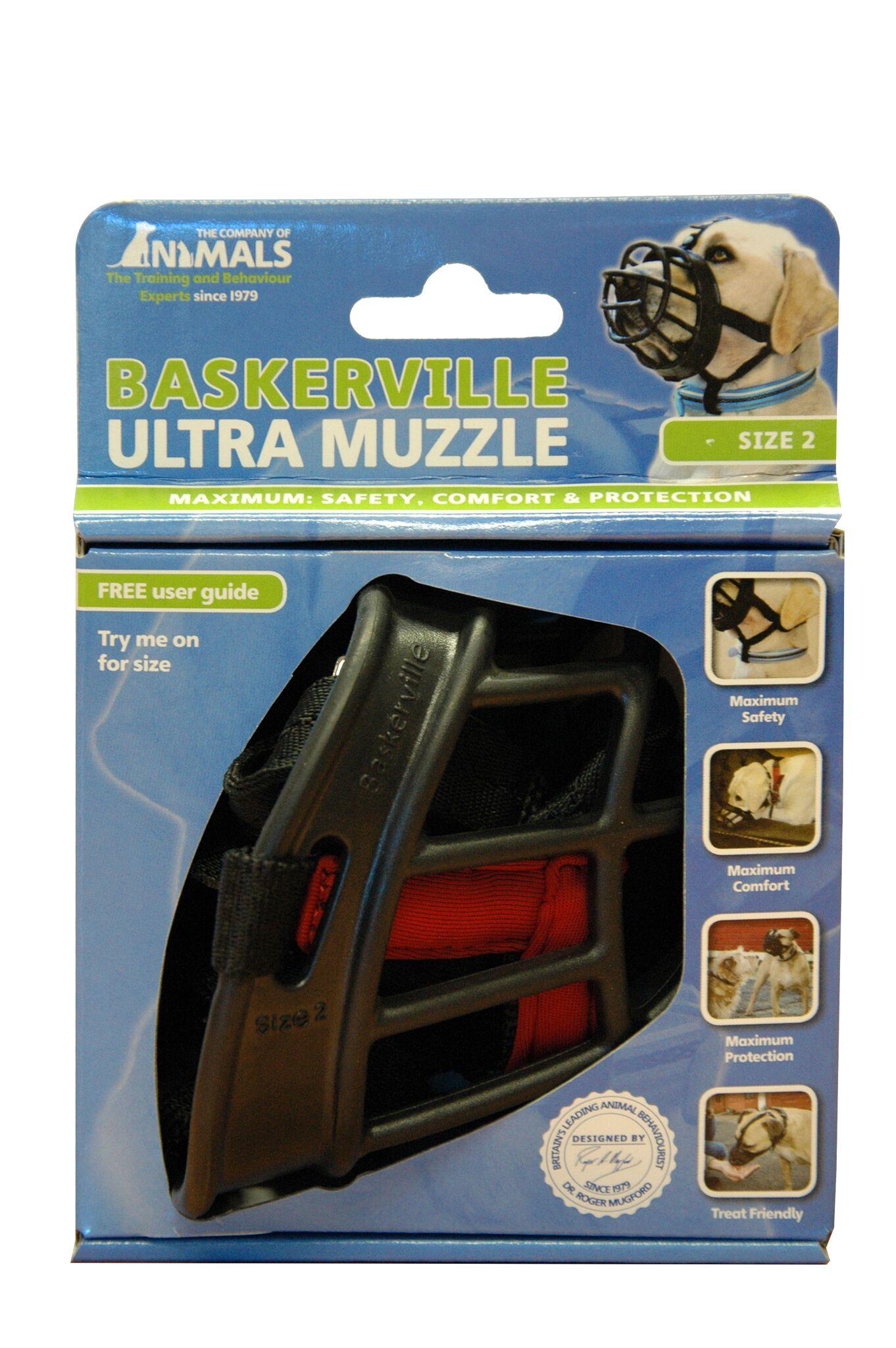 BASKERVILLE Ultra Muzzle Black