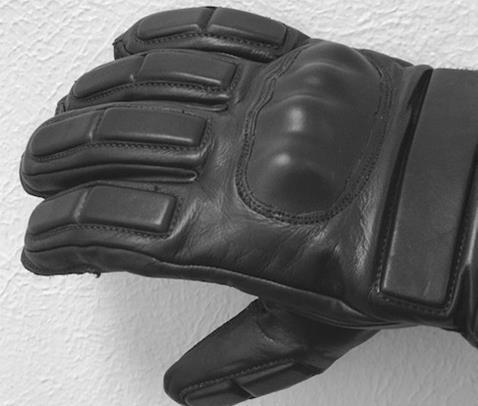 Bite Protection Glove hand