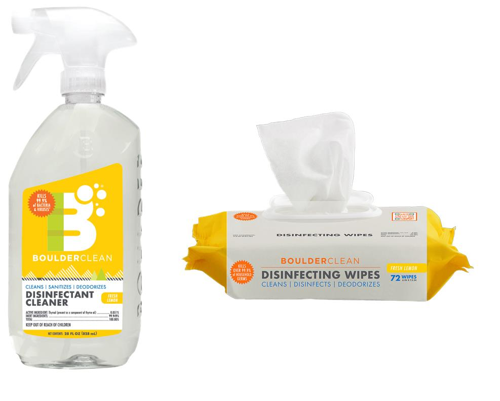 BoulderClean Disinfectant Cleaners