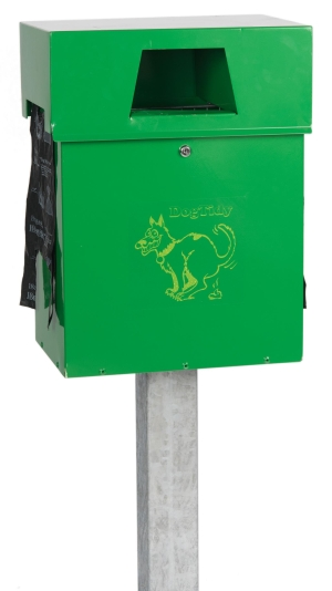 Poop Bags and Bin by DogTidy