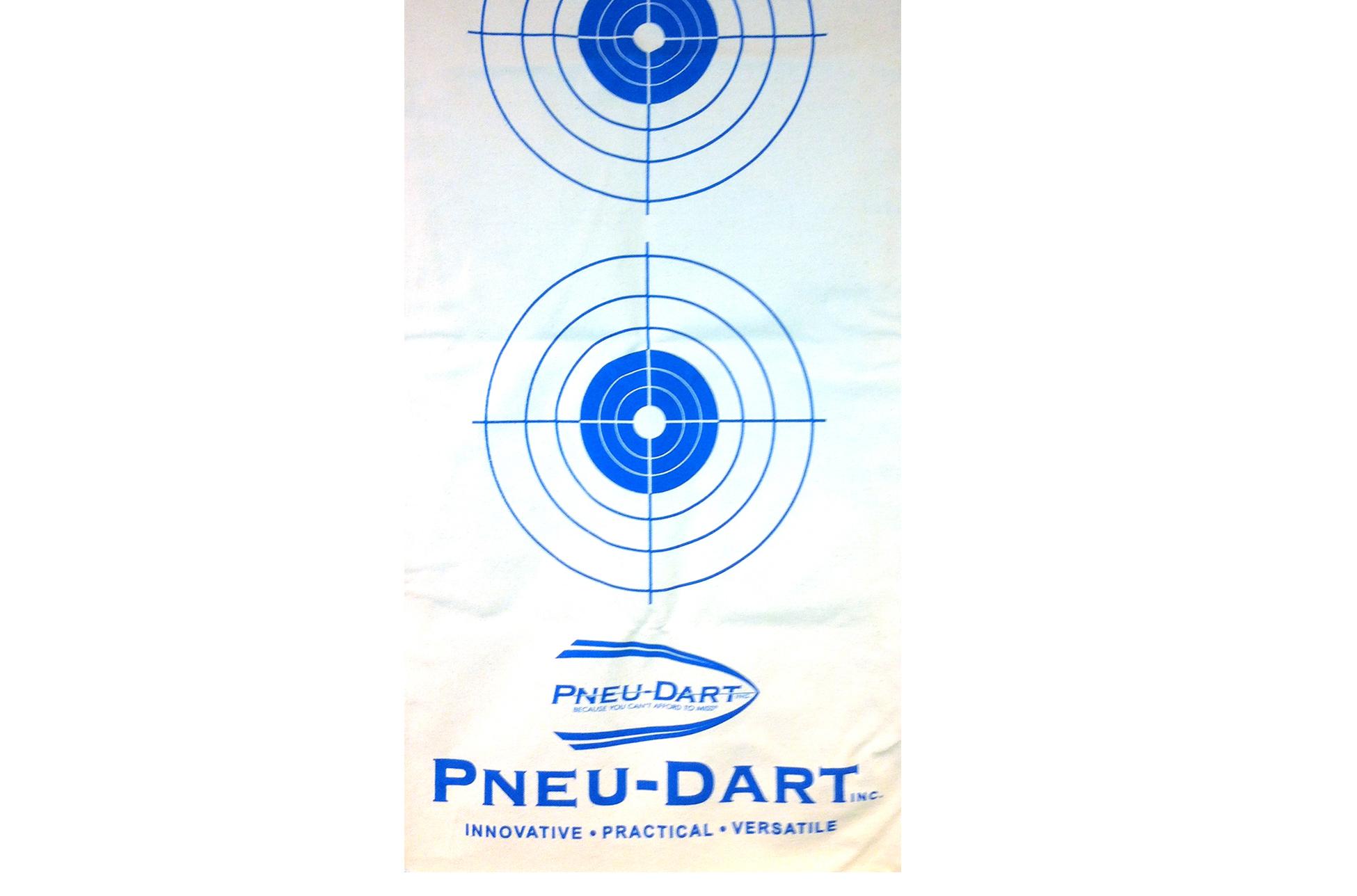 Pneu-Dart Target