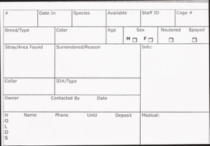 Kennel ID Cards